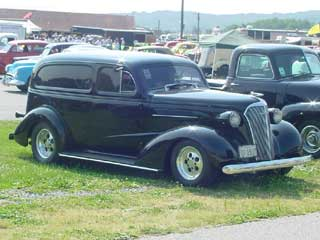 1937 Chevy Sedan Delivery For Sale